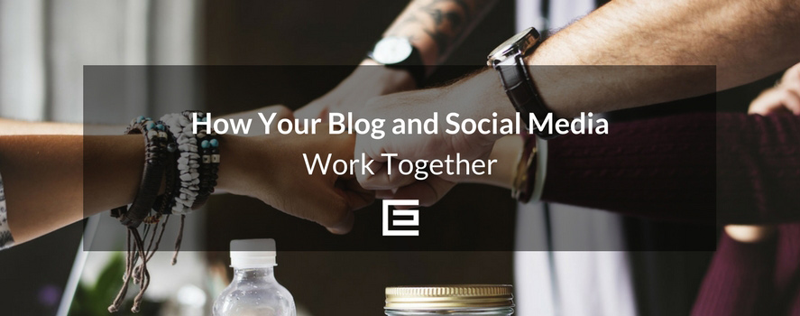 blog social media together